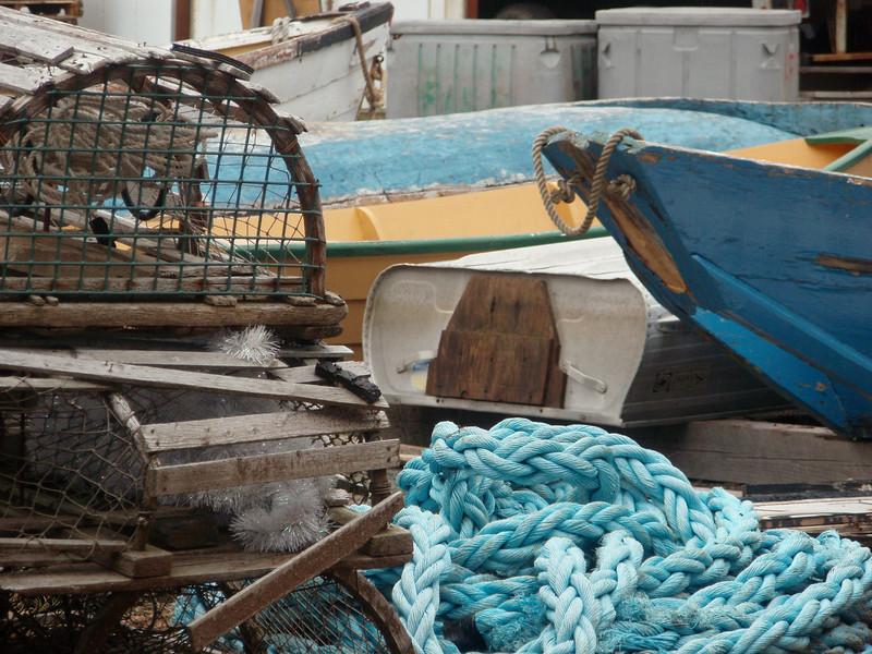 Lunenburg Dock Materials