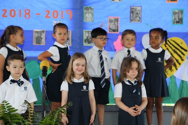 PreK3, JK, SK & 1st Grade Day of Achievement 2019