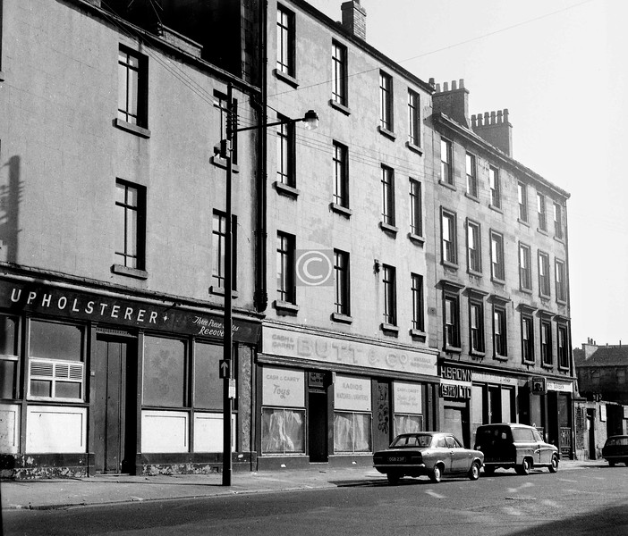 Oxford St, north side between South Portland St and Nicholson St.   September 1973