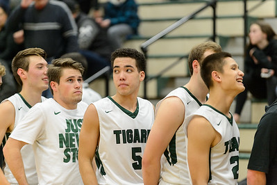 Tigard High School Boys Varsity Basketball vs Canby