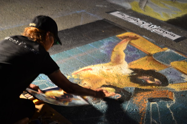 2014 Medford Chalk Art and Music
