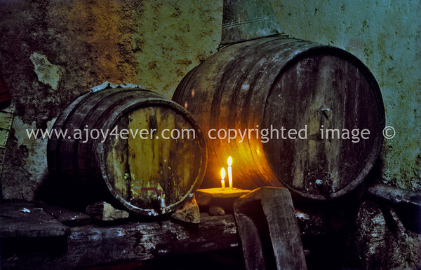 "008_""ajoy4ever"" MY FAVORITES       ""archival""1973 guardavalle wine making cellar"
