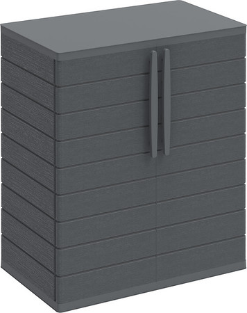Vertical Cabinets Small 2 Grey