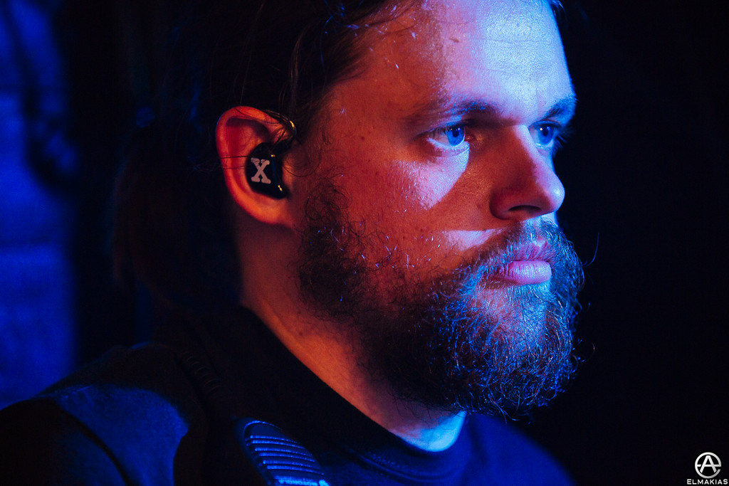 Charlie, the sound-man for A Day To Remember by Adam Elmakias