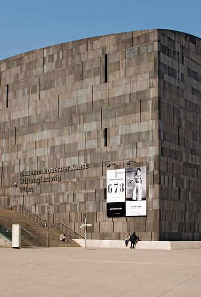 Museum of Modern Art, MuseumsQuartier Vienna, Austria