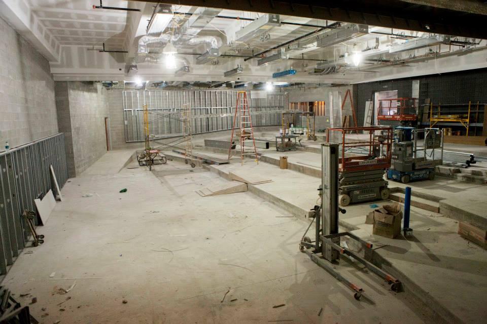 Description of . A 200-seat auditorium on the first floor. (Photo by Jason Willis/Oakland University)