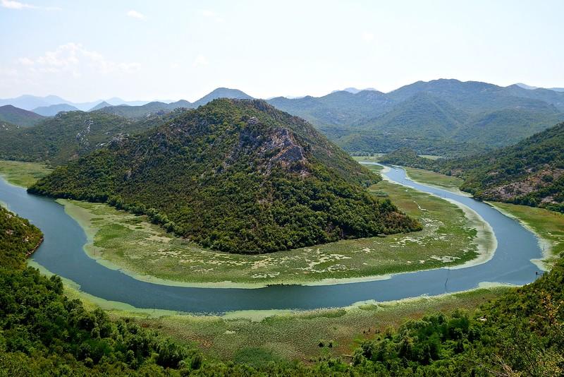 Crnojevica River in Skadar National Park