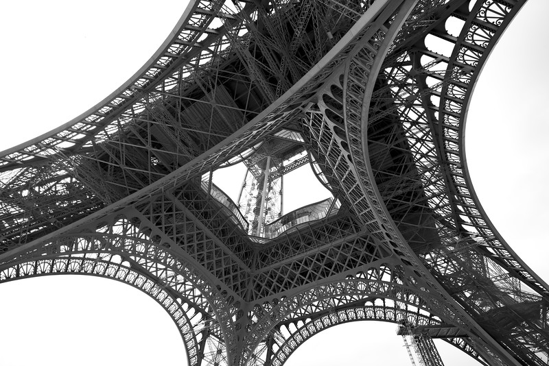 Bottom of Eiffel Tower
