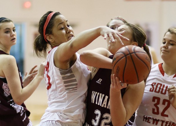 SNHS Girls Basketball vs Winamac 2015