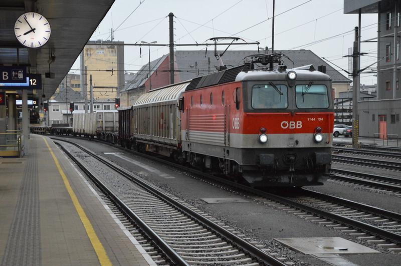 OBB 1144 104-7 Linz 19/9