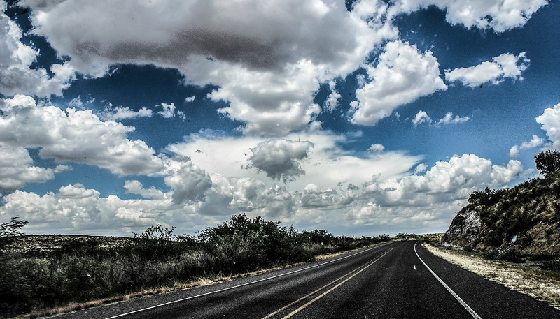 Roadscape...and more clouds...
