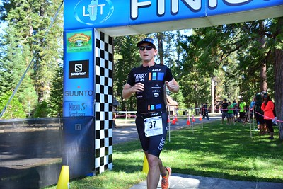 Lake Tahoe Tri Olympic/Half Finish