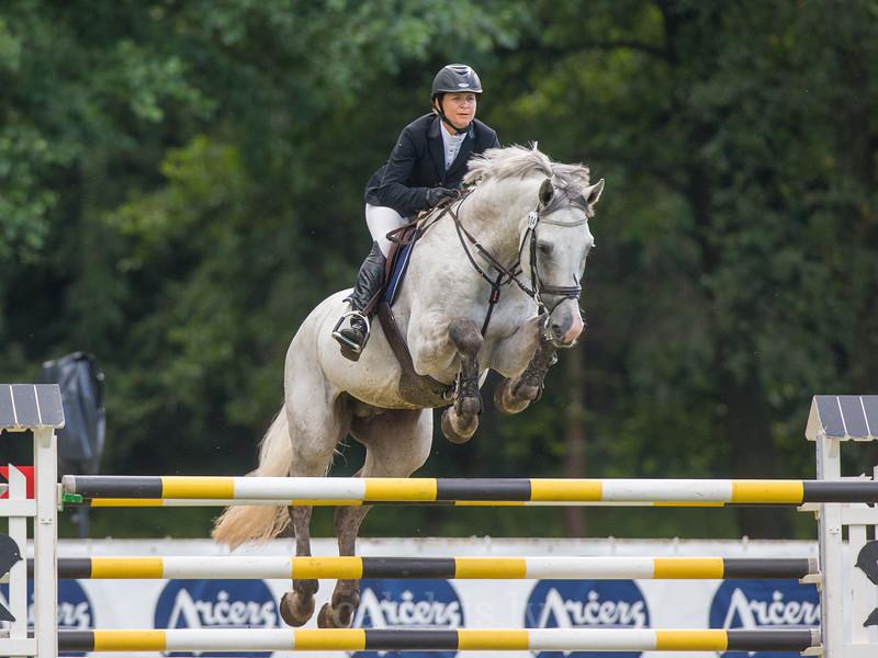 Maira LEJA (LAT) with the horse CORRWIKO, World Cup competition, Grand Prix Riga, CSI2*-W, CSIYH1* - Riga 2016, Latvia