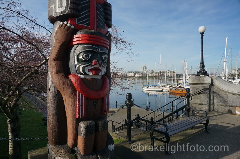 Totem Pole on the Inner Harbour