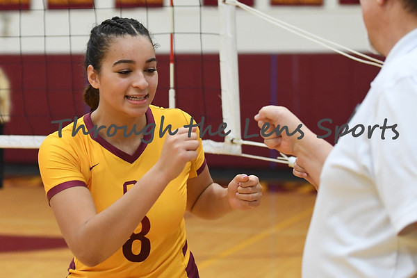 Central Catholic vs. McMinnville  High School Volleyball