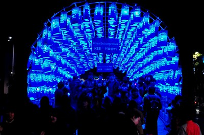 KOREA-Picture set 19 - Seoul Lantern Festival November 10 2012