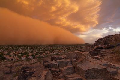 Desert Cityscapes