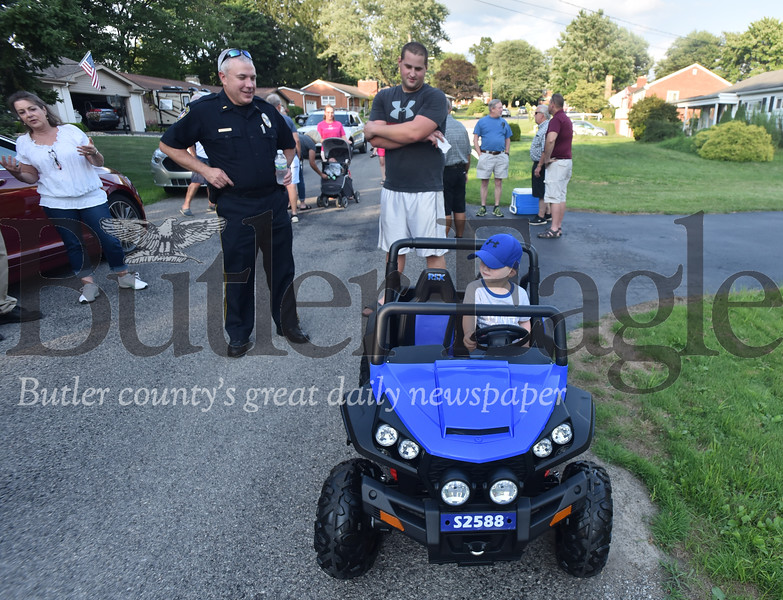 69131 Butler Township is participating in the National Association of Town Watch's annual National Night Out on Aspen Road in the Meadowwood neighborhood in Butler Twp