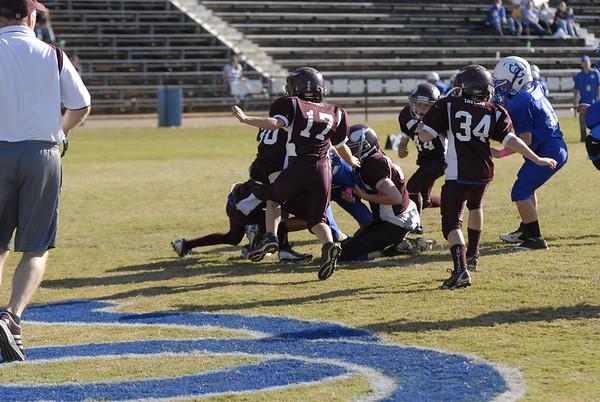 Jr. Pee Wee Football vs. Tennessee High