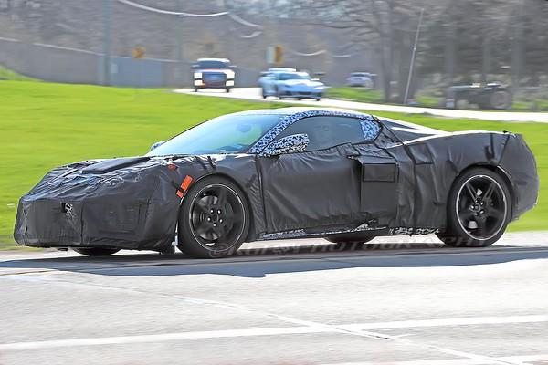 Mid-Engine Corvette Caught on Public Roads In Michigan