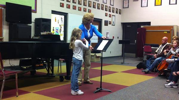 2012 March recital