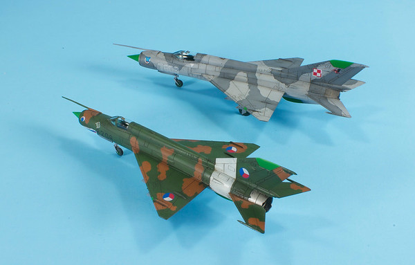 1/144 Eduard MiG-21 Dual Combo