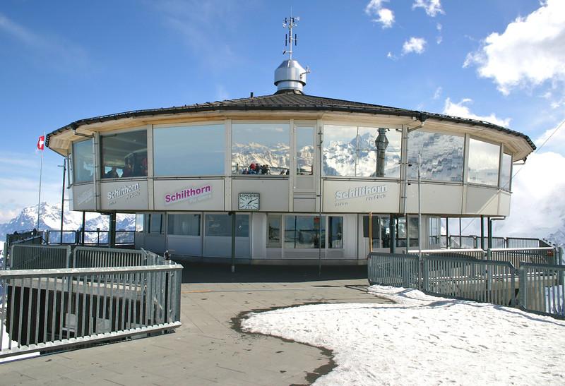 Piz Gloria station- Schilthorn