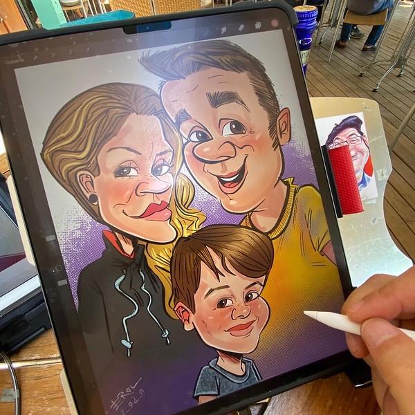 iPadkarikatur