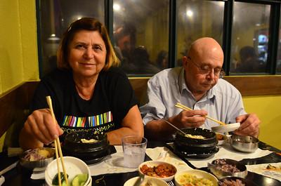 Mae e Pai em Palo Alto - Marco 2012