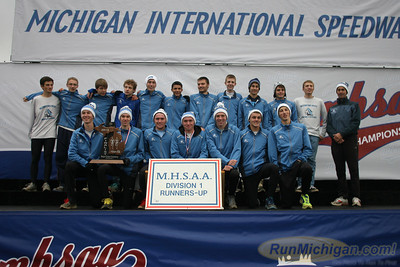 Awards Team - D1 Boys - 2013 MHSAA LP XC Finals