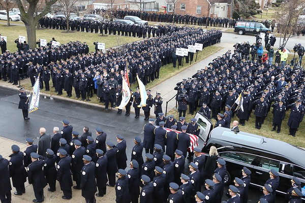 Chicago Police Officer Conrad Gary Funeral