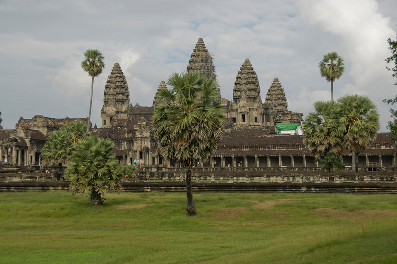 Landscape outside of Angkor Wat Temple