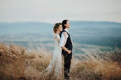 Garrett & Hayley, Married.
