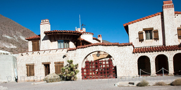 Scotty's Castle, Death Valley.