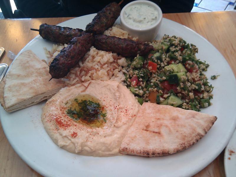Bistro 9 Grill & Rotisserie - Lamb Kebab