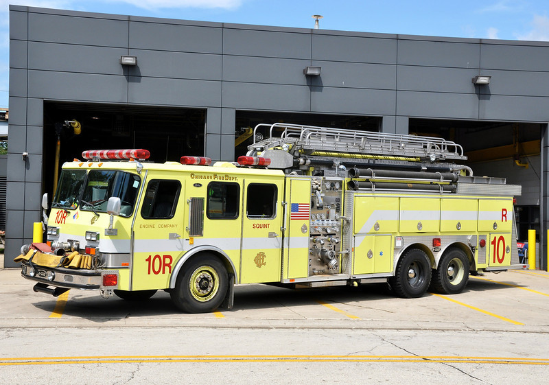 Engine 10R O'hare Airport