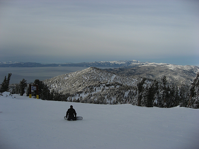 Lake Tahoe from Commit