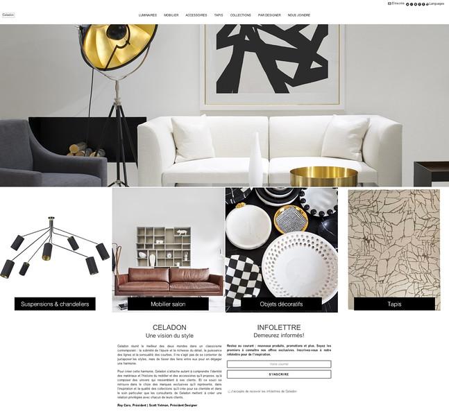 Celadon Collection's Website