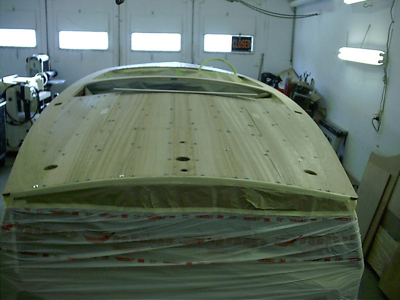 All new wood on the rear deck and engine hatch cover.