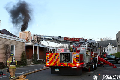 Structure Fire - 104 Myrtle Ave, Stamford, CT - 4/6/20