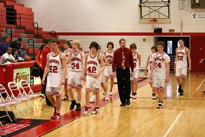 Boys Freshman Basketball - 2/12/2009 Ludington