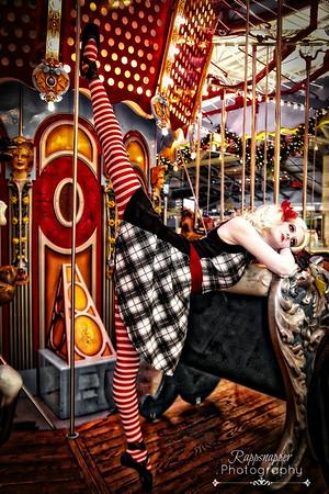 Natalie's Photo Shoot Carousel Dec. 2015