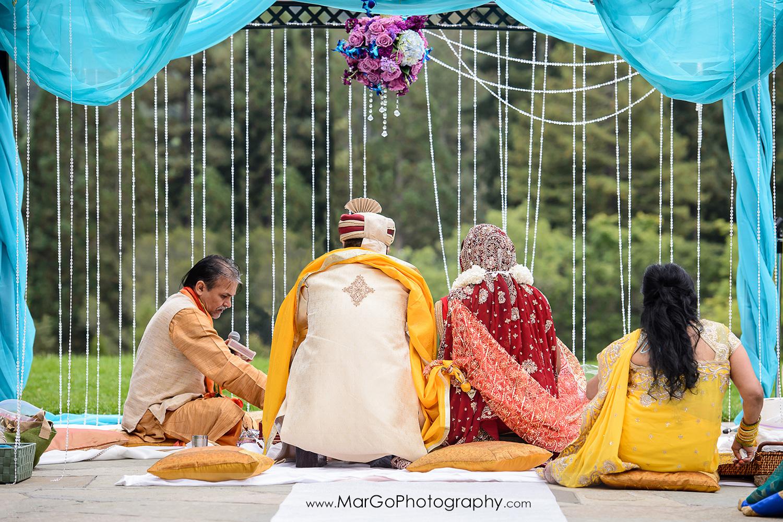 saptapadi, indian wedding ceremony at Brazilian Room - Tilden Regional Park, Berkeley