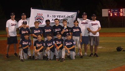 2012 9-10 Year Old All Star State Champs