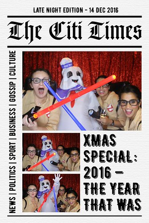 The Citi Times: XMAS Special 2016 - 14 Dec 2016
