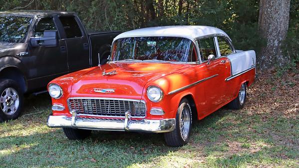 October 18, 2020:  Car show in Watkinsville, GA .  .  .