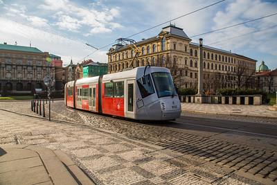 Prague The Trams