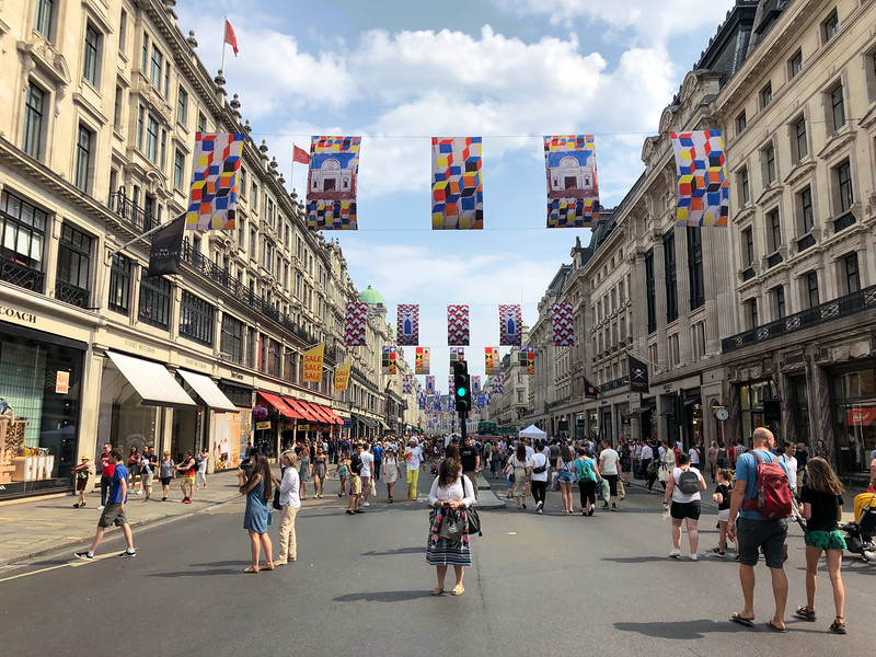 Summer Sundays on Regent Street