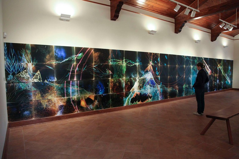 Christine Nguyen, Powers of the Cosmic Dusty Seas, January 2011, installation view.