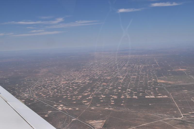 Many many west TX oil fields, near Midland, TX